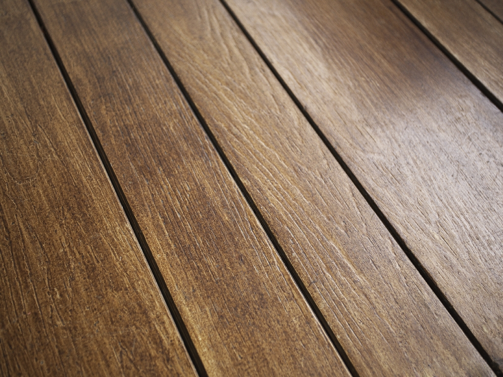 Typical Shera wood planks looking just like regular wooden planks
