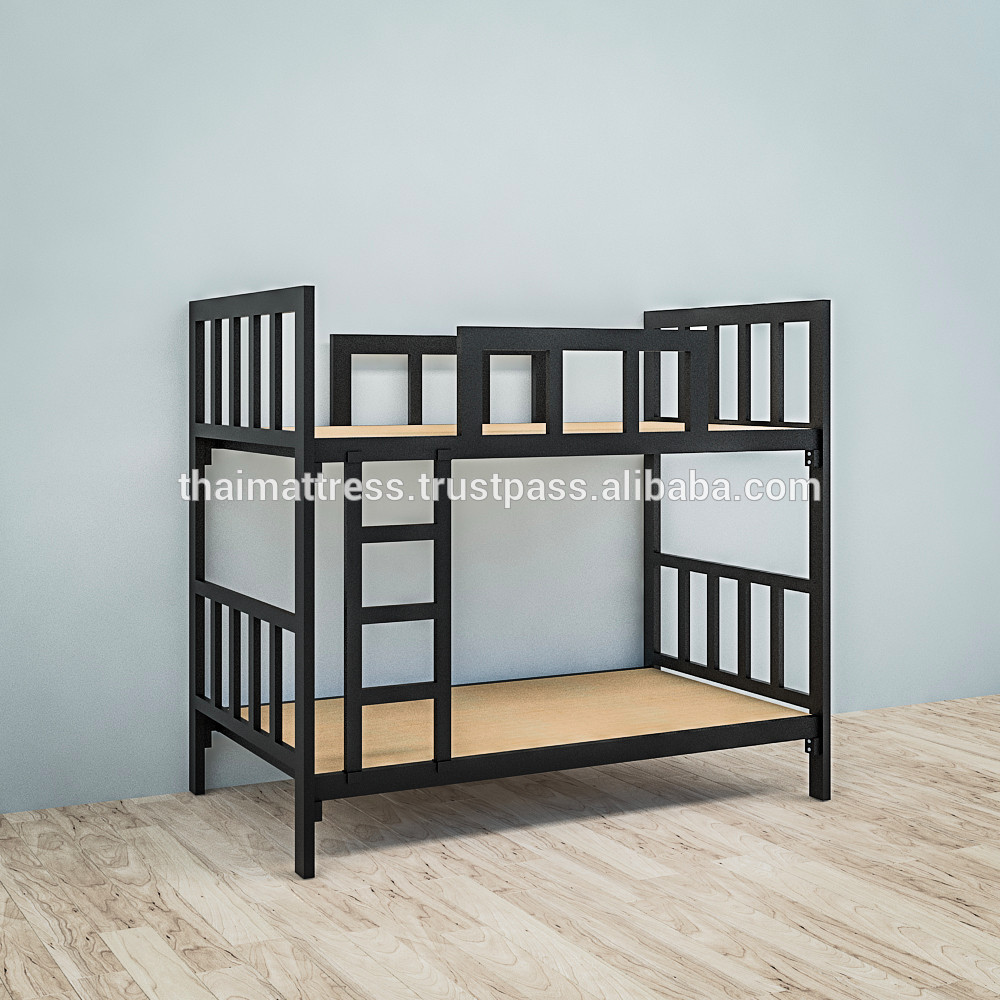 We prefer a bunk bed like this one, but any other model is also welcome.