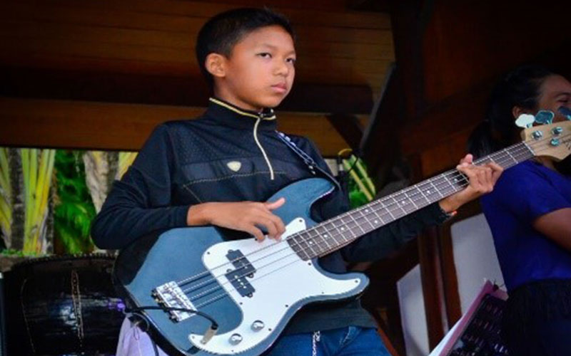 Jam Start – the Yaowawit School Band