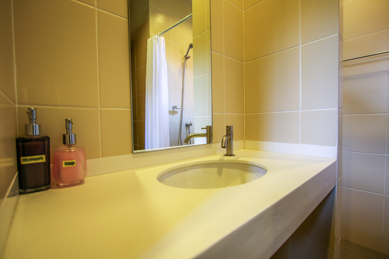 Washing basin in the new hotels