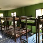 Typical worn-out bunk beds in our children's dormitories